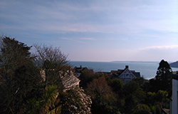stunning sea views from Tudor court Falmouth